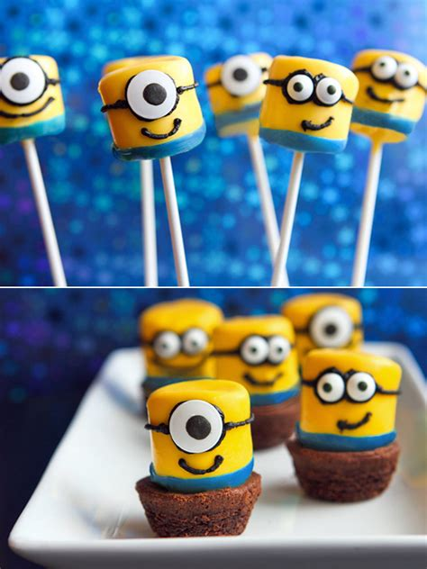 marshmallow minions party ideas homemydesign