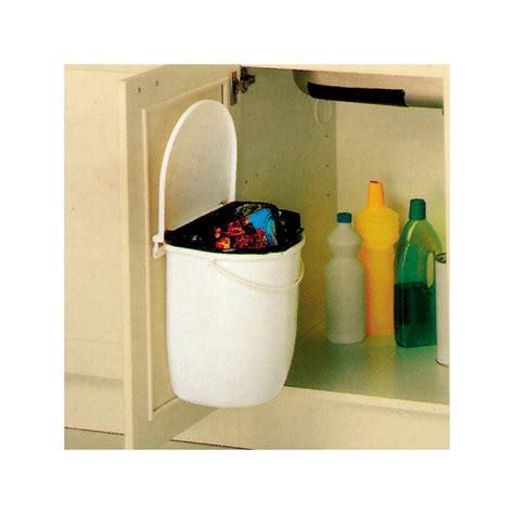 bac poubelle cuisine poubelle cuisine pivotante 1 bac 12 litres