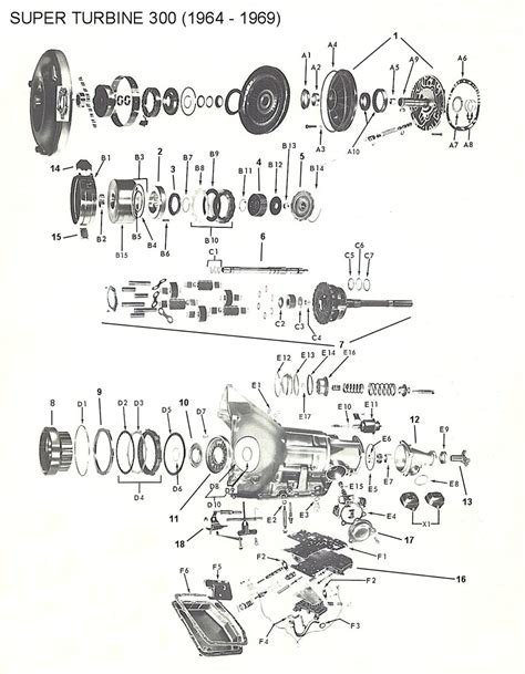Powerglide Transmission Diagram by St300 Fatsco Transmission Parts