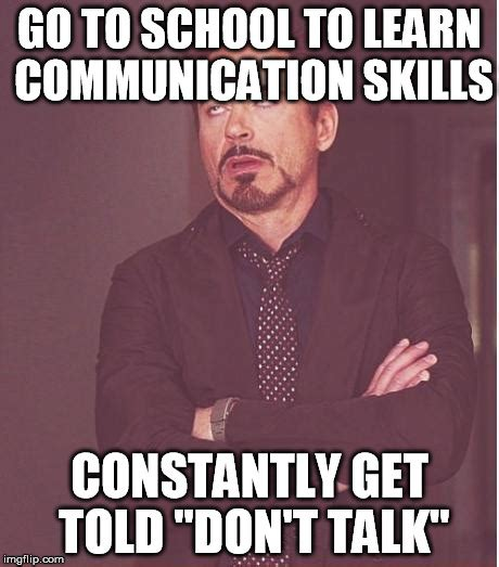 Communication Meme - face you make robert downey jr meme imgflip