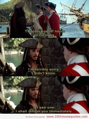 movie quotes pirates of the caribbean 2003