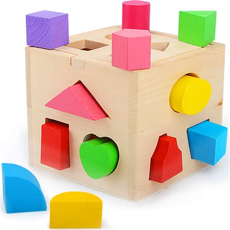 buy wholesale china aliexpress buy baby toys shape sorting cube classic