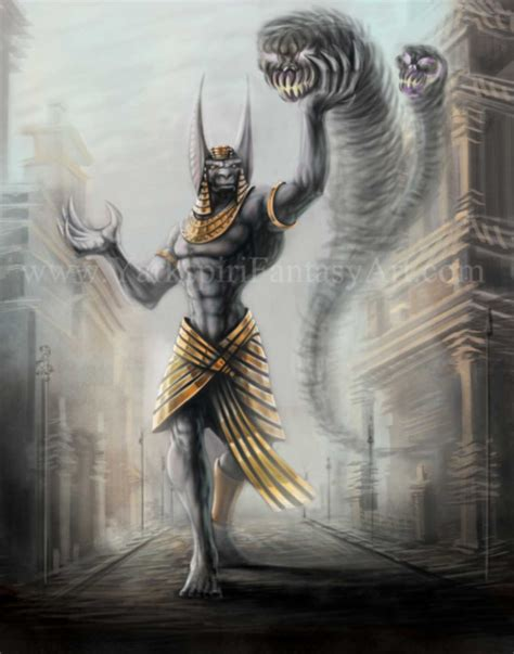 Anubis Illustration Video Tutorial By Yarkspiri On