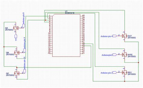 Arduino Mosfet Control Cmos Logic Chip Electrical
