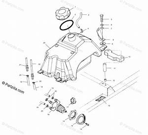 Polaris Atv 2001 Oem Parts Diagram For Fuel Tank A01aa32aa