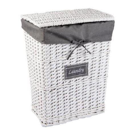 panier 224 linge blanc paniers et cubes de rangement la foir fouille