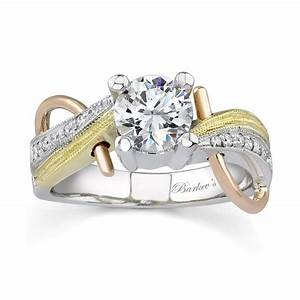 barkev39s tri color engagement ring 7138l With tri color wedding ring