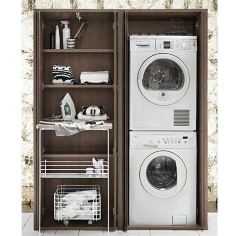 mobile lavatrice esterno colonna porta lavatrice e asciugatrice da esterno