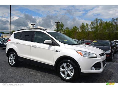2014 Ford Escape Se Specs by 2014 White Platinum Ford Escape Se 2 0l Ecoboost