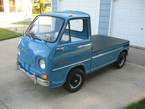 subaru sambar truck this 1969 subaru sambar 360 pickup truck is photo of the