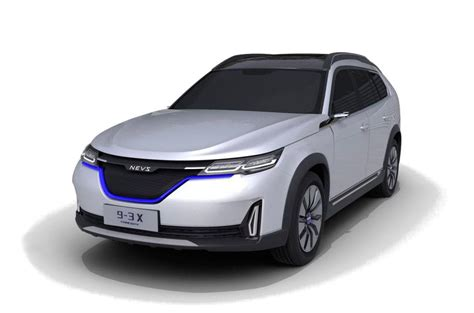 nevs reveals  concepts based  saab