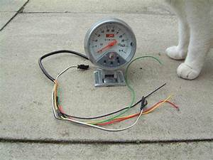 Autogauge Tacho Shift Light  Wireing Info