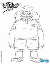 Hellokids Coloring Inazuma Eleven sketch template