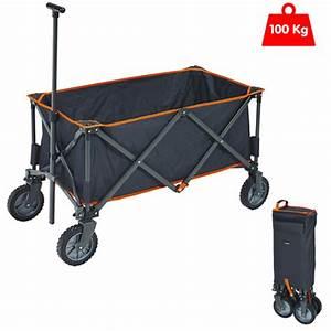 Chariot De Transport Pliable : chariot de plage pliant trigano ~ Edinachiropracticcenter.com Idées de Décoration