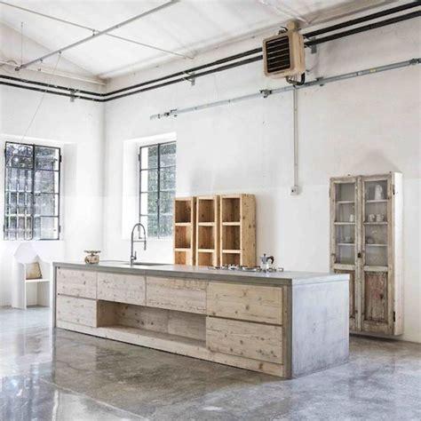 concrete floors in kitchen concrete kitchens 5668