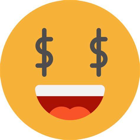 emoticons greed emoji feelings smileys icon