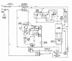 Basic Washing Machine Wiring Diagram