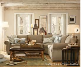 pottery barn living room love decorating pinterest