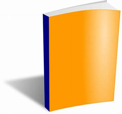 Closed Clipart Paperback Standing Clip Cliparts Library