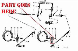 Right Side Toggle Brake Fork For Farmall Cub Or Cub Loboy