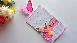 Beautiful Handmade Birthday card idea / DIY Greeting Pop ...