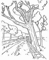 Road Coloring Pages Getcolorings Printable sketch template