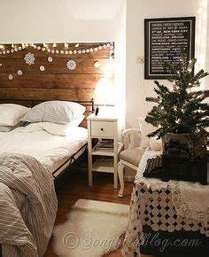Christmas Bedroom Decorations on Pinterest