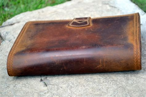 Section 5 Oil Tanned Cowhide Leather Care/maintainance