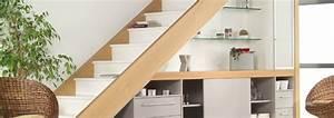 Bureau Sous Escalier : renova 68 meuble sur mesure alsace colmar mulhouse ~ Farleysfitness.com Idées de Décoration