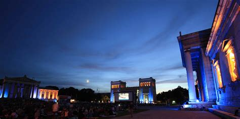Englischer Garten Open Air by Kino Open Air Am K 246 Nigsplatz M 252 Nchen Infos Zum Kinofestivals