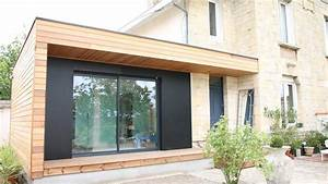 extension agrandissement de maison en bois design With le plan d une maison 16 agrandissement maison bois extension bois
