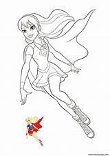 Coloring Super Pages Hero Dc Supergirl Printable Coloriage Heroes Heros Superhero Imprimer Sheets Superheroes Drawing Heroine Dessin Colors Info Les sketch template