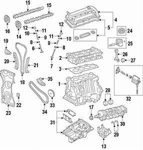 Lincoln Mkz Engine Crankcase Cover Gasket Set  Escape