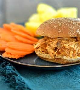 Clean Eating BBQ Chicken Sandwich