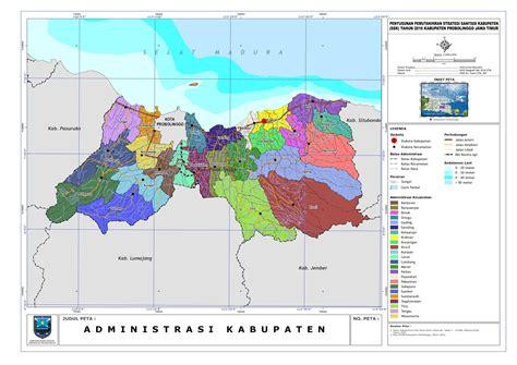 peta kota peta kabupaten probolinggo