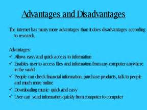 disadvantages of internet essay in english
