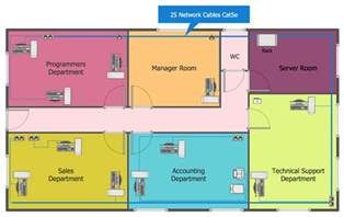 layout design network layout floor plans solution conceptdraw