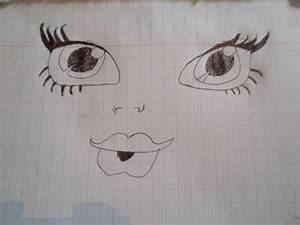 Dessin Facile Yeux : mes dessin monster high fin que les yeux pas facile avec le corp photographie dolls ~ Melissatoandfro.com Idées de Décoration