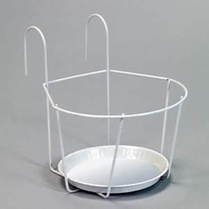 Support Pot De Fleur : brema support pot de fleurs blanc 16cm 123666v achat ~ Dailycaller-alerts.com Idées de Décoration