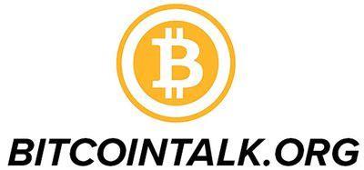 bitcointalk   cryptocurrency bitcoinwiki