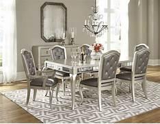 Diva Rectangular Extendable Leg Dining Room Set From Samuel Lawrence 880813