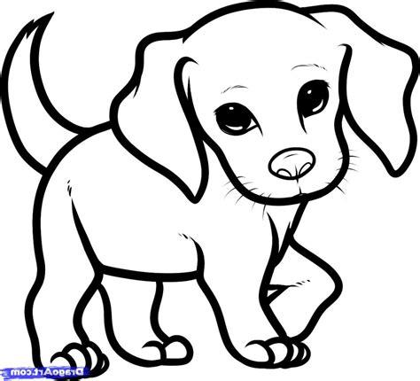 cute dog drawing easy  getdrawingscom