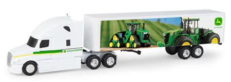 ertl toys john deere freightliner semi truck