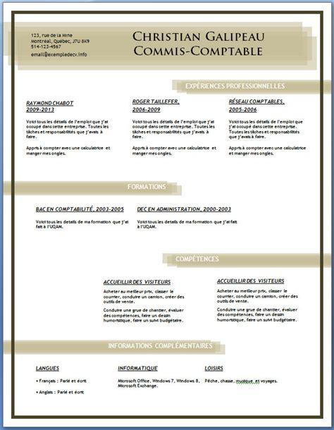 Exemple Cv Télécharger by Resume Format Lettre Relance Cv