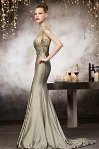 Haut Habillé Pour Soirée : robe soir e haute couture en taffetas col en v ~ Melissatoandfro.com Idées de Décoration