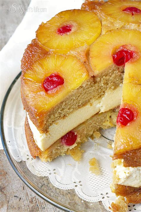 pineapple upside  cheesecake recipe desserts