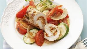 Zucchini Tomaten Gemüse : gefl gelroulade mit zucchini tomaten gem se rezept eat smarter ~ Whattoseeinmadrid.com Haus und Dekorationen