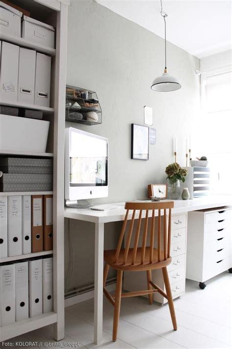 Ikea Wohn Arbeitszimmer by Dezente Wandfarbe Im Arbeitszimmer Homeoffice Einrichten