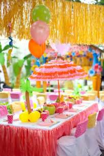 Luau Birthday Party Ideas