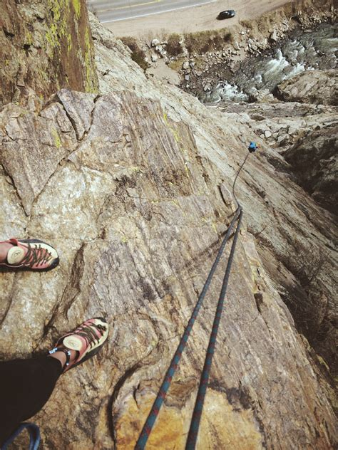 How Climbing Your First Multi Pitch Can Change Life